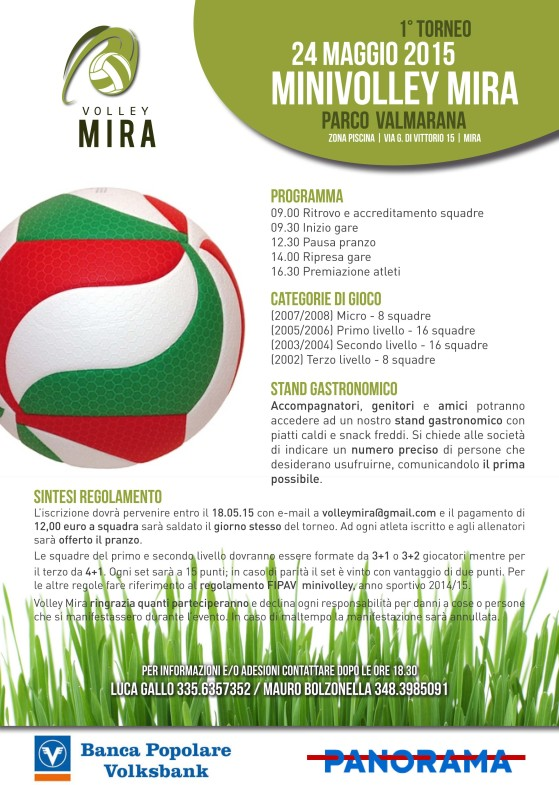 Torneo Mini Volley Mira